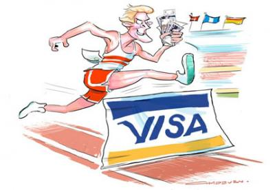 Have Visa simply sponsored the Games or bought them entirely?