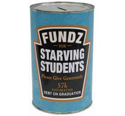 Starving Students Saving Tin Can