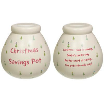 Save your Christmas cash with this festive piggy bank