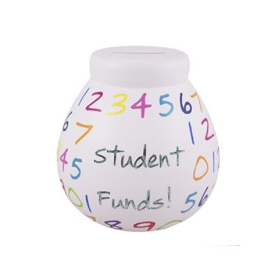 This colourful saving pot will add some style to your student room